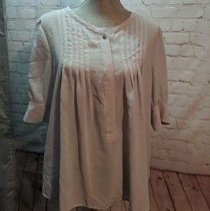 Worthington sheer blouse